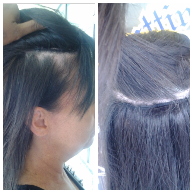Microlink Hair Fusion And Beaded Sew In Salon Miami Ft Lauderdale
