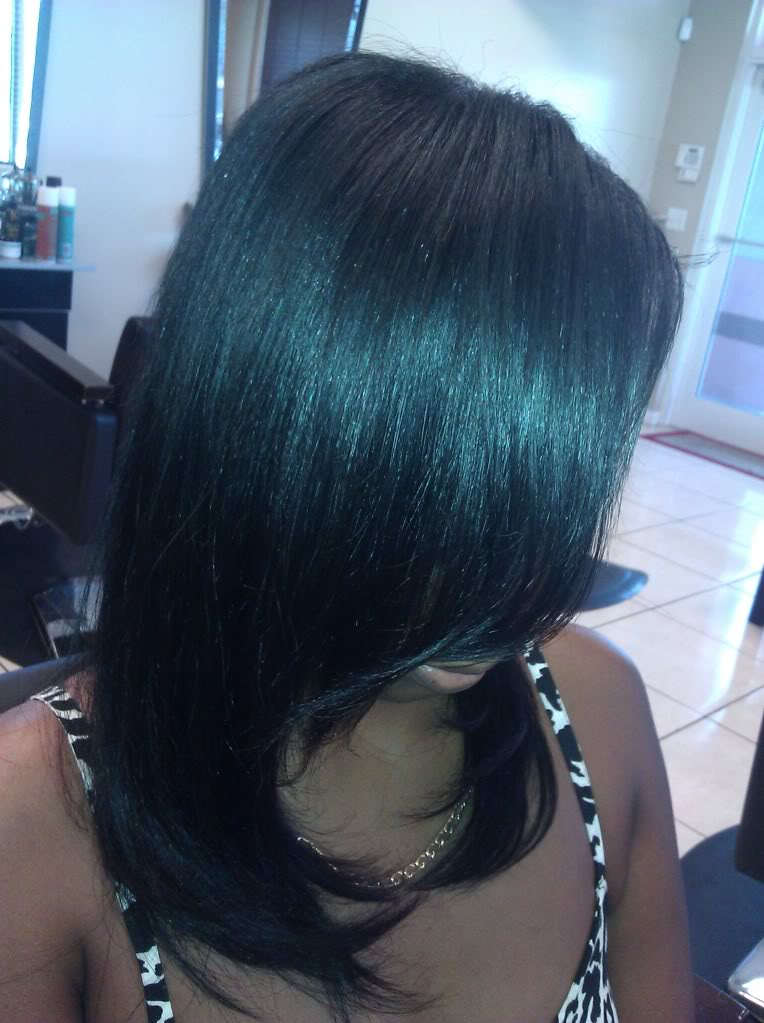 Full Sew In with Natural Leave Out